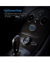 ADSDIA DC 12V LED Display Voltmeter Waterproof for Boat Marine Vehicle Motorcycle Truck ATV UTV Car