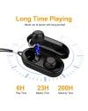 ADSDIA Wireless Earbuds, Bluetooth 5.0 [Bass] HiFi Stereo in-Ear Earphones Headphones