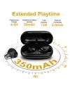 Wireless Earbuds, Bluetooth 5.0 [Bass] HiFi Stereo in-Ear Earphones Headphones ADSDIA